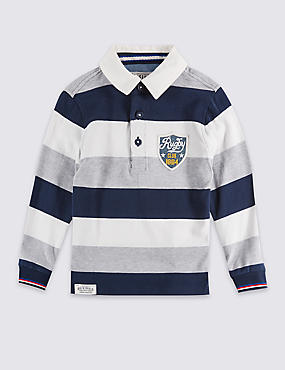 Cotton Rich Rugby Top (3 Months - 5 Years)