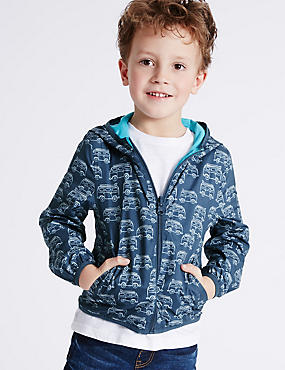 All Over Print Hooded Jacket (3 Months - 5 Years)