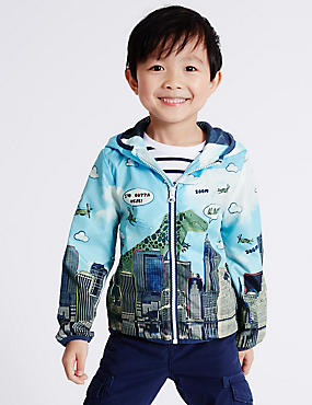 All Over Print Anorak Jacket (3 Months - 5 Years)