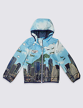 All Over Print Anorak Jacket with Stormwear™ (3 Months - 5 Years)