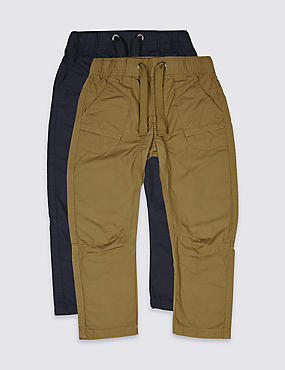2 Pack Trousers (3 Months - 5 Years)