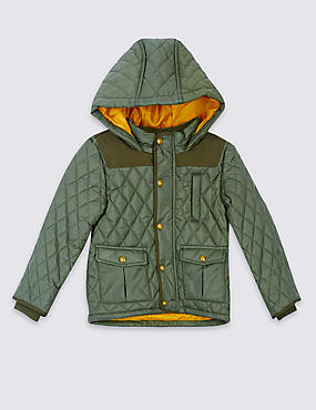 Quilted Coat with Stormwear™ (3 Months - 7 Years)
