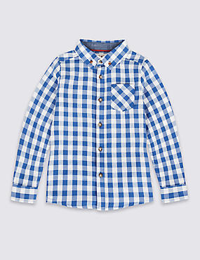 Paddington™ Pure Cotton Gingham Shirt (3 Months - 6 Years)