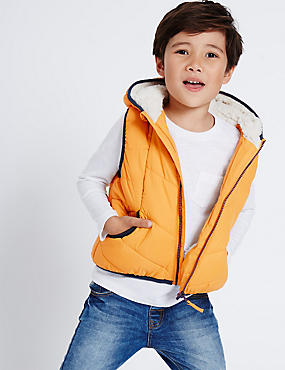 Padded 2 Pocket Gilet (3 Months - 7 Years)