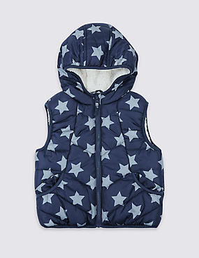 All Over Print Gilet (3 Months - 7 Years)