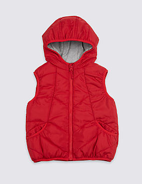 2 Pocket Hooded Gilet (3 Months - 7 Years)