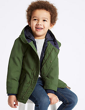 3 in 1 Parka Coat (3 Months - 7 Years), MULTI, catlanding