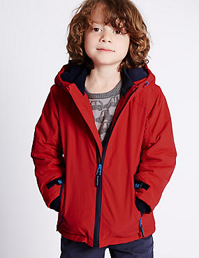Hooded Technical Jacket (1-7 Years)