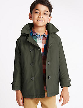 Stormwear™ Hooded Peacoat (1-7 Years)