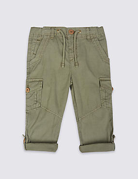 Pure Cotton Trousers (3 Months - 5 Years)