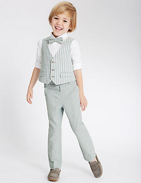 Pure Cotton Trousers (1-5 Years)