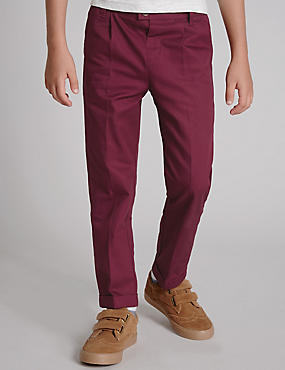 Pure Cotton Twill Chino Trousers (1-7 Years)