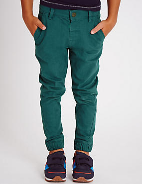 Cotton Rich Canvas Chinos (1-7 Years)