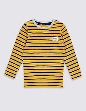 Pure Cotton Stripped Top (3 Months - 5 Years)