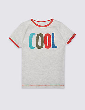 Cotton Rich T-Shirt (3 Months - 5 Years)