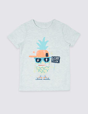 Cotton Rich Printed T-Shirt (3 Months - 5 Years)