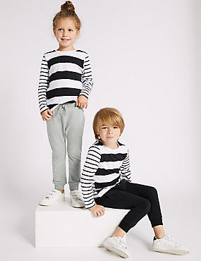 2 Pack Cotton Rich Joggers (3 Months - 7 Years), MULTI, catlanding