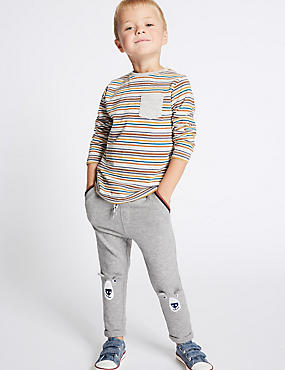 Cotton Rich Joggers (3 Months - 5 Years)
