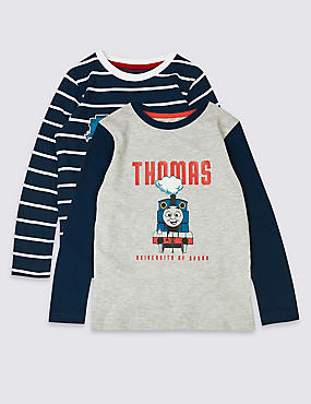 2 Pack Thomas & Friends™ Tops (1-6 Years), MULTI, catlanding