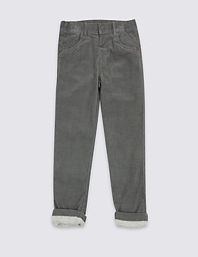 Skinny Fit Cotton Rich Trousers (3 Months - 6 Years)