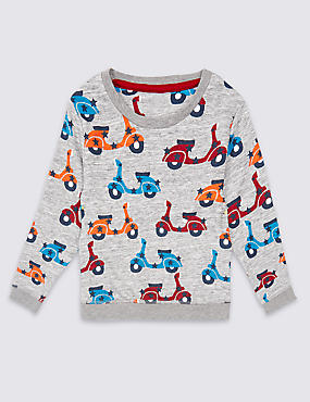 Printed Sweatshirt (3 Months - 5 Years)