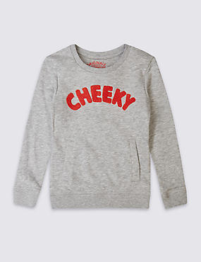 Cheeky Slogan Sweatshirt (3 Months - 5 Years)
