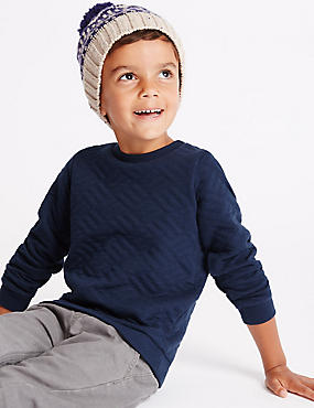 Cotton Rich Long Sleeve Sweatshirt (1-7 Years)