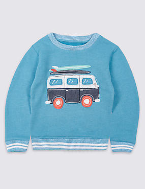 Cotton Rich Sweatshirt (3 Months - 5 Years)