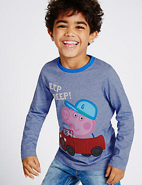 Peppa Pig™ Pure Cotton T-Shirt (1 Year - 5 Years)