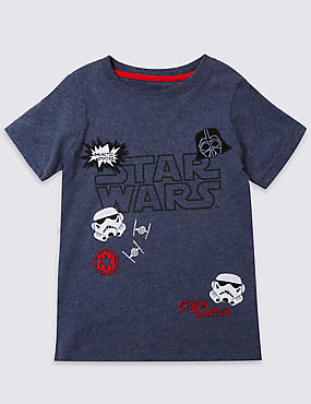 Pure Cotton Star Wars™ T-Shirt (1-5 Years)