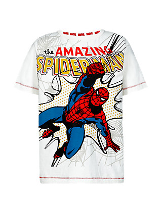 Pure Cotton The Amazing Spider-Man™ Boys T-Shirt (1-7 Years) Clothing