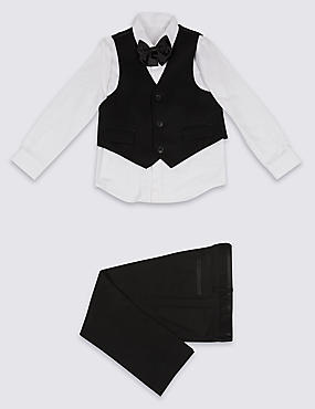 4 Piece Tuxedo Outfit (3 Months - 7 Years)