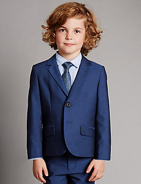 3 Piece Blazer, Shirt & Tie Outfit (1-10 Years)