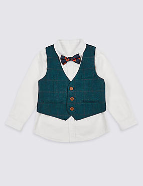3 Piece Waistcoat Outfit (3 Months - 6 Years)