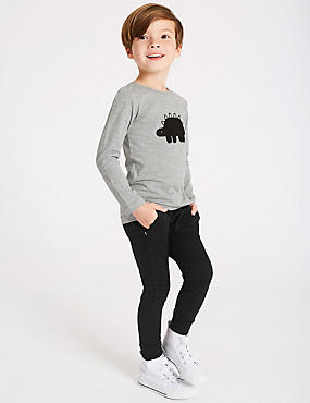 2 Piece Top & Bottom Outfit (3 Months - 7 Years), GREY MIX, catlanding
