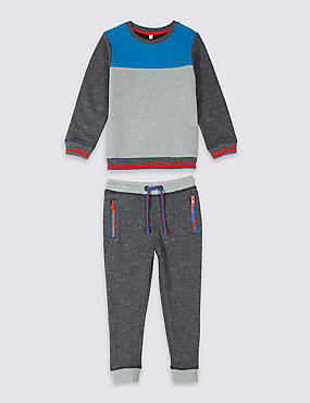 2 Piece Sweatshirt & Joggers Outfit (3 Months - 7 Years)