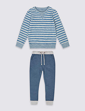 2 Piece Striped Outfit (3 Months - 5 Years)
