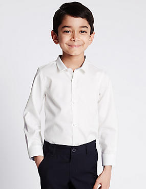 Pure Cotton Long Sleeve Shirt (1-8 Years)