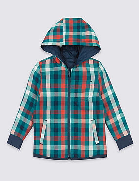 Reversible Hooded Shirt (3 Months - 5 Years)