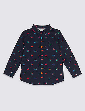 Pure Cotton All Over Print Shirt (3 Months - 5 Years)