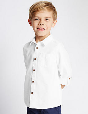 Pure Cotton Oxford Shirt (1-7 Years)