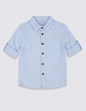 Pure Cotton Shirt (3 Months - 5 Years)