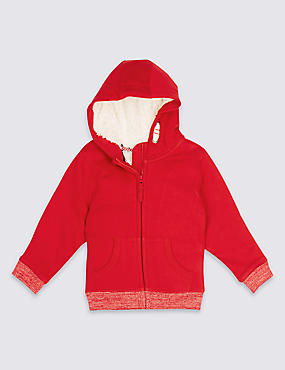 Zipped Hooded Top (3 Months - 5 Years)