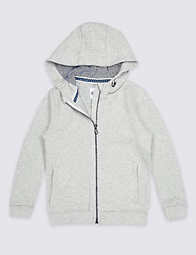 Zipped Hooded Top (3 Months - 7 Years)