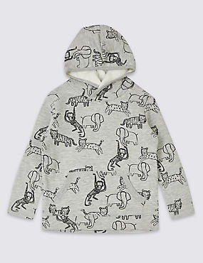 Cotton Rich Sweatshirt (3 Months - 7 Years), GREY MIX, catlanding