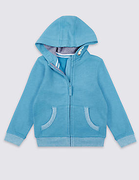 Cotton Rich Hooded Top (3 Months - 5 Years)