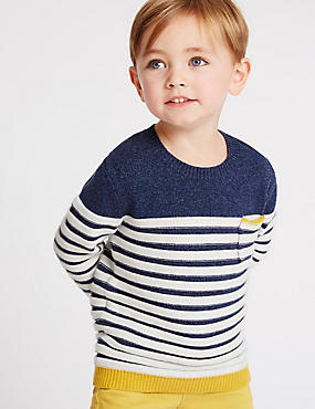 Pure Cotton Jumper (3 Months - 5 Years)