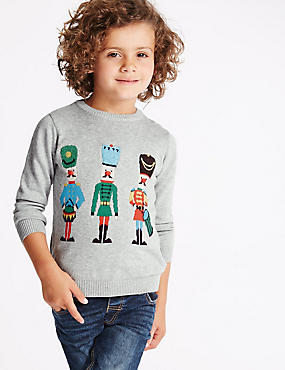 Long Sleeve Soldier Jumper (1-7 Years)