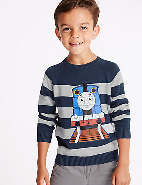 Thomas & Friends™ Pure Cotton Long Sleeve Jumper (1-6 Years)