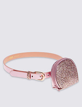 Kids' Glitter Purse with Hip Belt